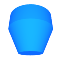 3D cylinder - cone