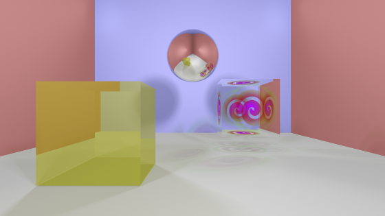 Ray tracing demo